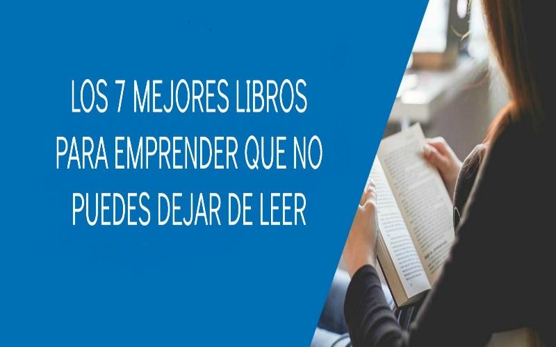 7 libros para emprender