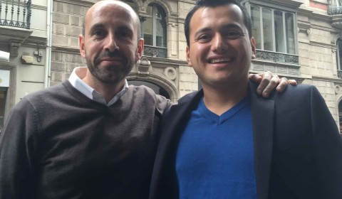 Javier megias y Alex Cormani